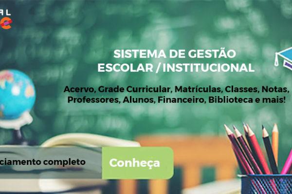 Digital Educ – Sistema de Gestão Escolar Completo